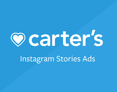 Instagram Stories Ads for Carter's