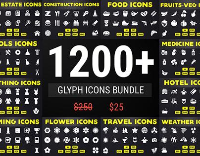 Solid Icons - Glyph Icon Mega Bundle