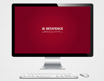 Betafence Concept Website.