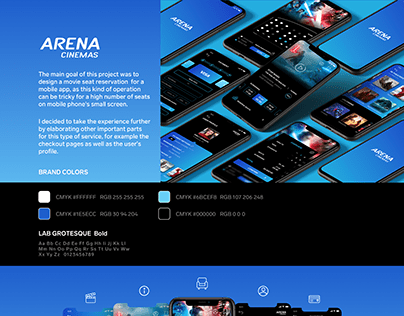 Arena Cinemas App