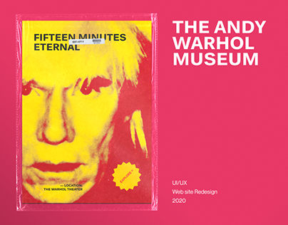The Andy Warhol Museum — New Website 2020