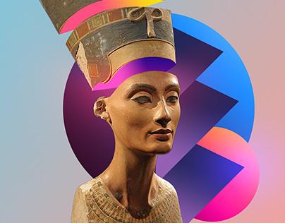"Grand Egyptian Museum ""Nefertiti "" 2018"
