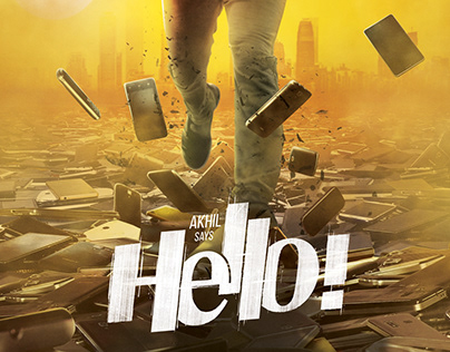 First Look Poster For Hello ! Telugu Movie (2017)