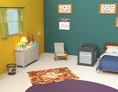 NICHD Safe to Sleep Interactive Room