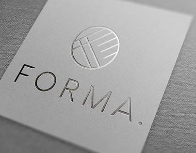 FORMA. Logo design