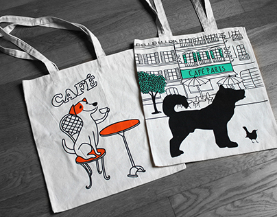 Totebag animals