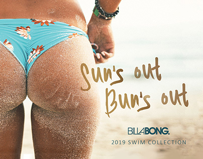 Billabong Campaign - Postcard & Die Cut Booklet
