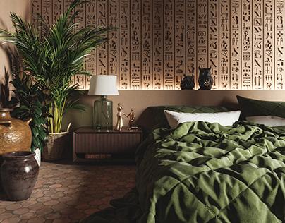 Bedroom_Hieroglyph