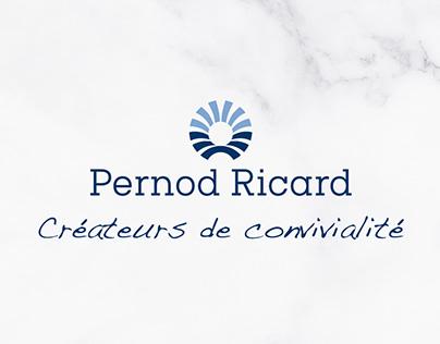 Pernod Ricard Turkey e-invite design #futuretalks