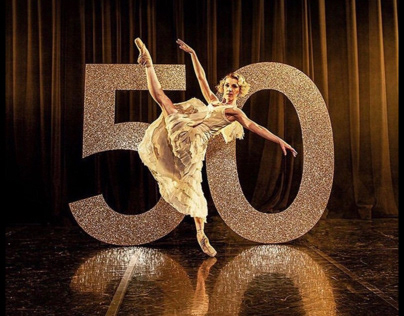 Northern ballet 50th anniversary