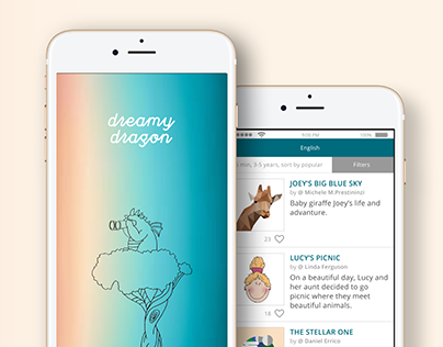 Dreamy Dragon | Mobile App