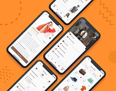 Ebuy E-commerce store UI Design