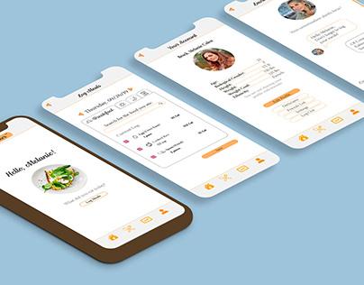 Diet Tracker App Concept