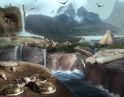 Concept Art/Matte Painting Gallery