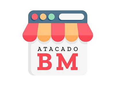 Logotipo Atacado BM