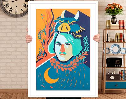 """Постер """"Гоголь"""" / Poster """"Gogol"""""""