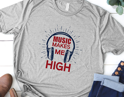 Music T Shirt Design Bundle