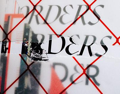 Tenor issue 1: Borders