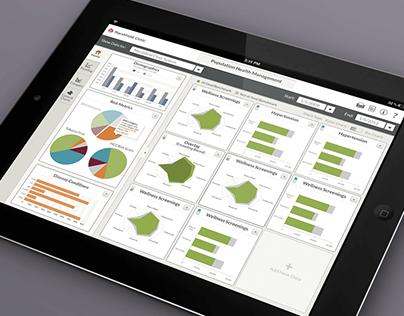 Population Health Dashboard | Interface Design