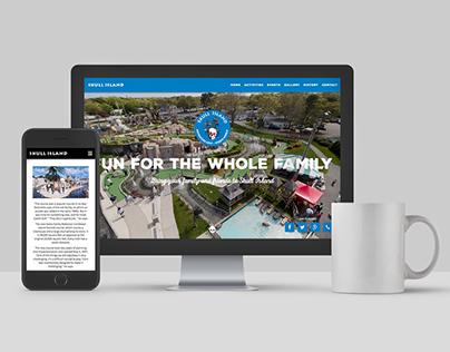 Skull Island Marketing Website