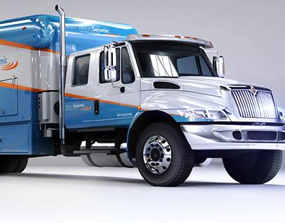 MicroSeismic Monitoring Trucks