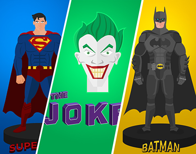 Action figures of my favorite DC Comics characters