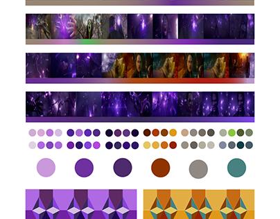 Color Analysis of Movie Scene