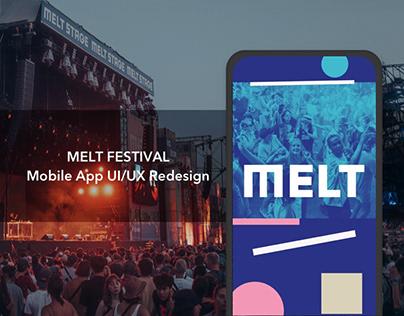 Melt Festival Mobile App Redesign