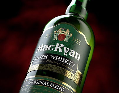 "Irish Whiskey ""MacRyan"""
