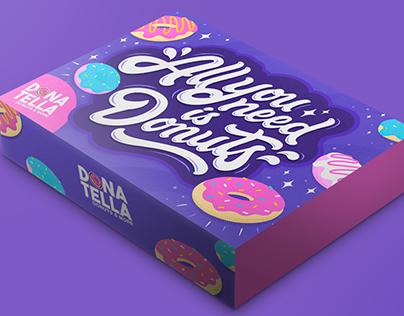 Donatella Donuts Packaging