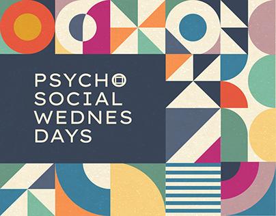 PSYCHOSOCIAL WEDNESDAYS / visual identity