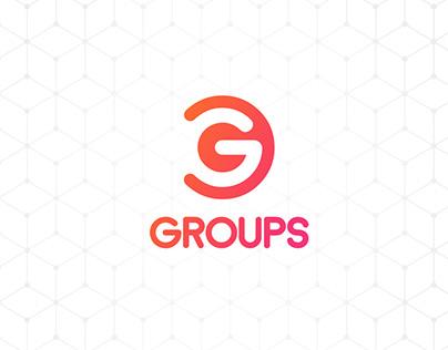 • GROUPS • Encontre grupos para chamar de seu