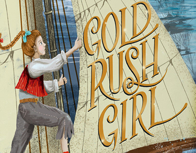 Gold Rush Girl Book Cover