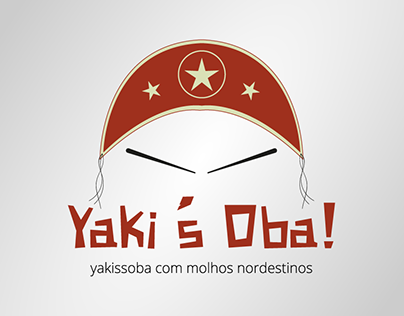Logotipo do restaurante Yaki's Oba!