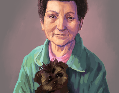 Portrait digital painting