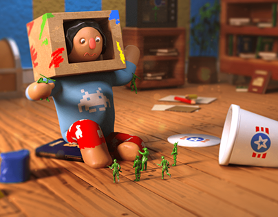 Strange Dream - 3D Illustration
