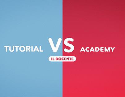Tutorial Vs Academy   Digital Shark Academy