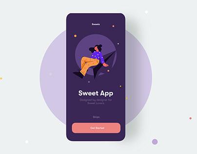 Sweet App UI