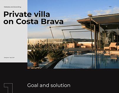 Villa Capellans − Website