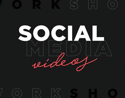 Social Media Vídeos 2019 - Workshow