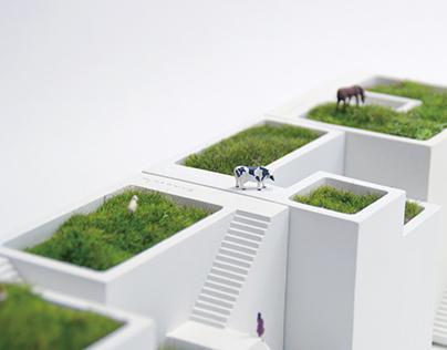 Miniature House Planter