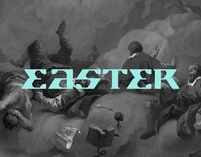 EASTER Early Display Font (free)