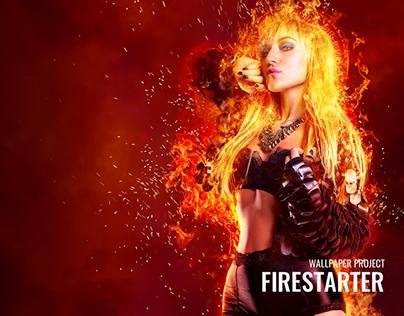 Firestarter - Wallpaper
