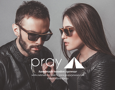 PRAY EYEWEAR (See Trough Nature) - Ad Campaign Shootin