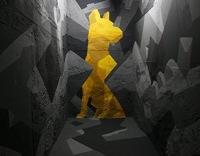 MURAL | solo exhibition | Becuh, Porto 2017