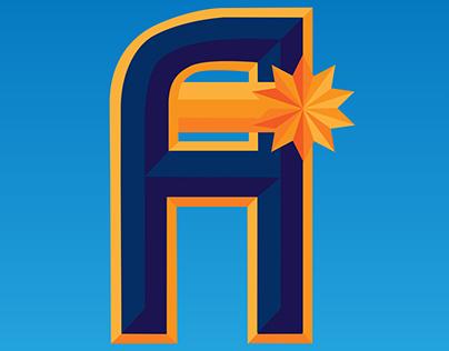 Houston Astros Typography