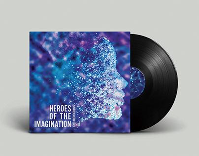 Vinyl album cover re-design