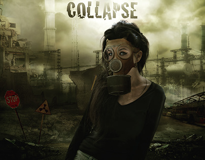 Collapse / Poster Design by Damla Topcu