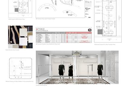 Liz Cuadrado - Michael Kors Store Design Work Samples