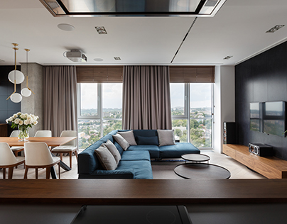 River View apartment by SVOYA studio